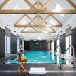 Location de maison avec piscine intérieure